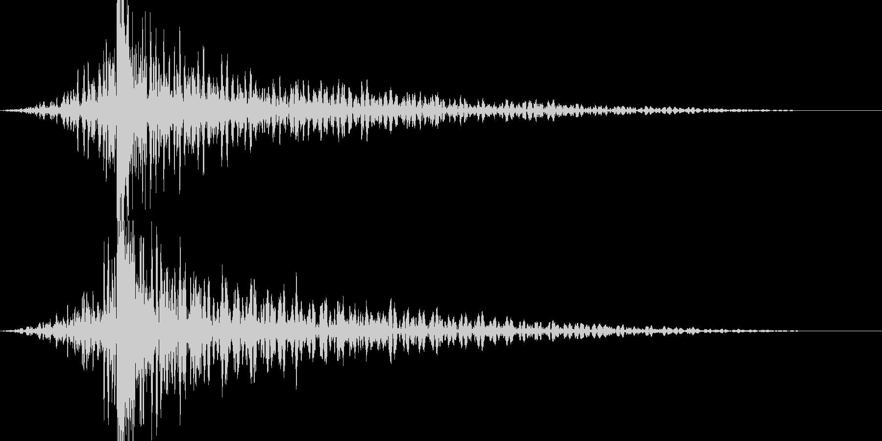 予想外の展開を表現するカーン・コーンの未再生の波形