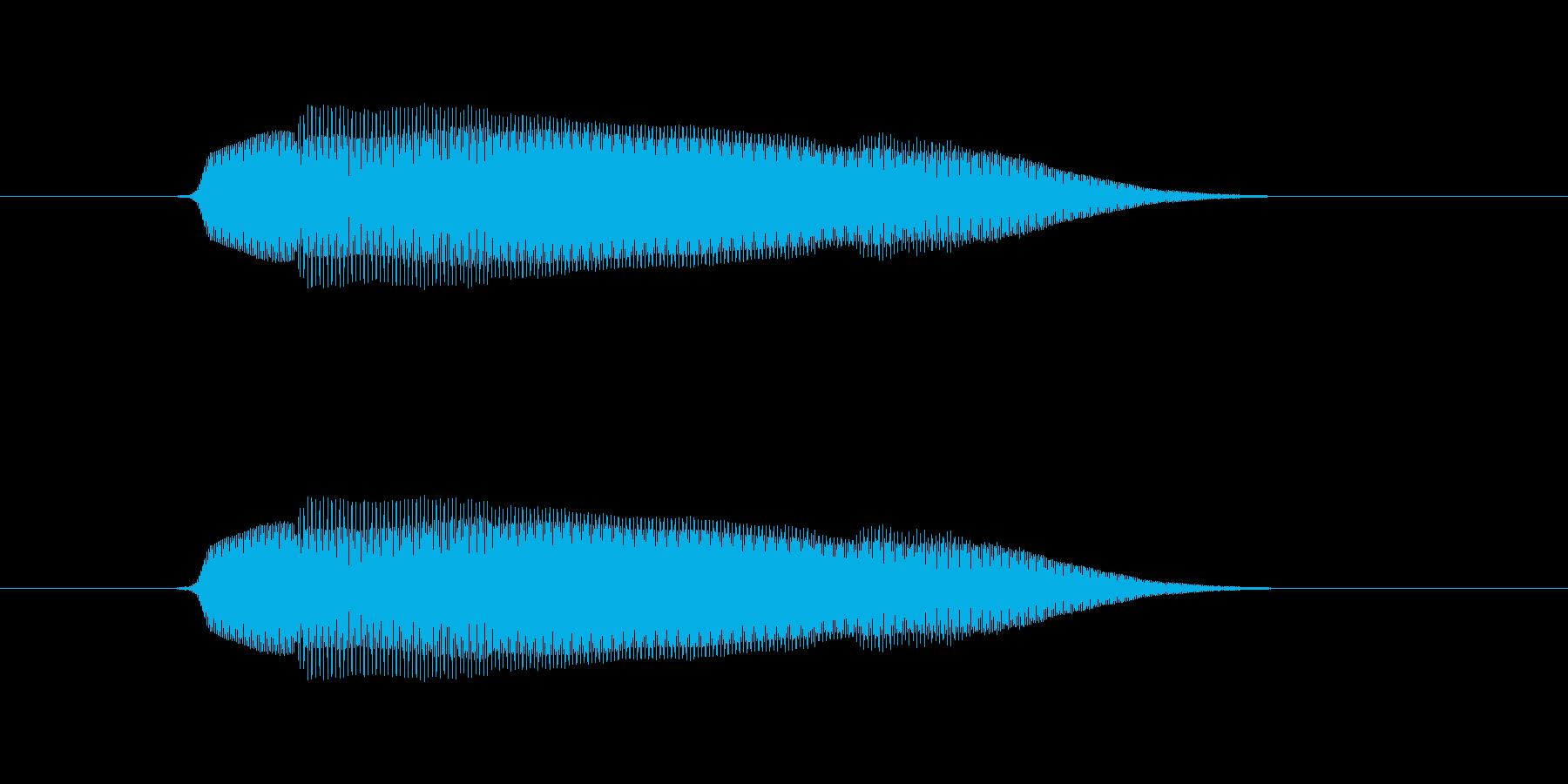 ムニャの再生済みの波形