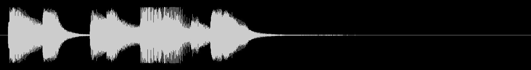 【バードランド3】の未再生の波形