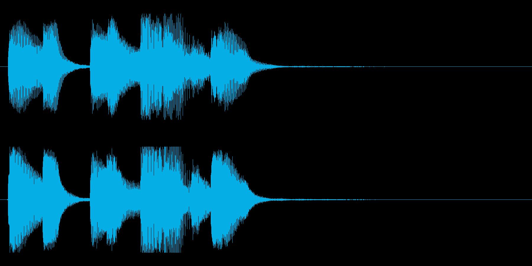 【バードランド3】の再生済みの波形