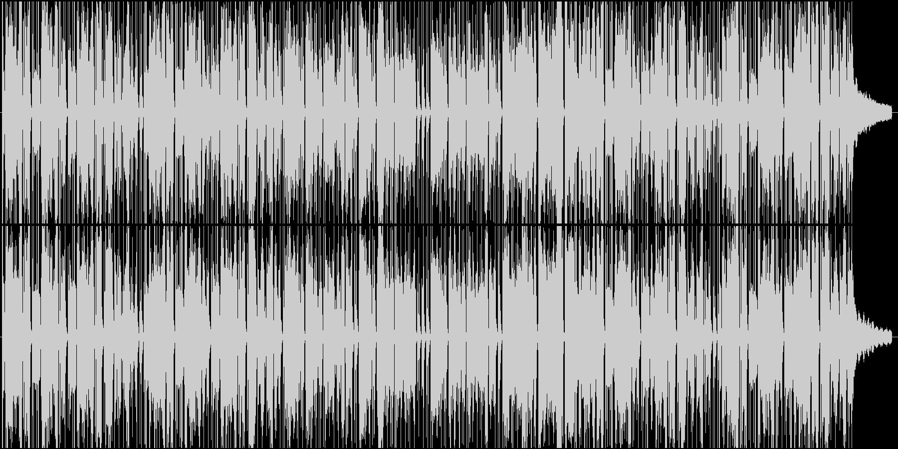 アニメ CM コミカル ほのぼのの未再生の波形
