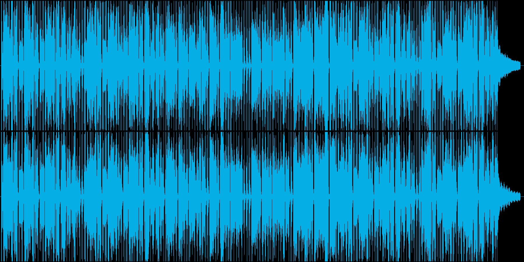 アニメ CM コミカル ほのぼのの再生済みの波形