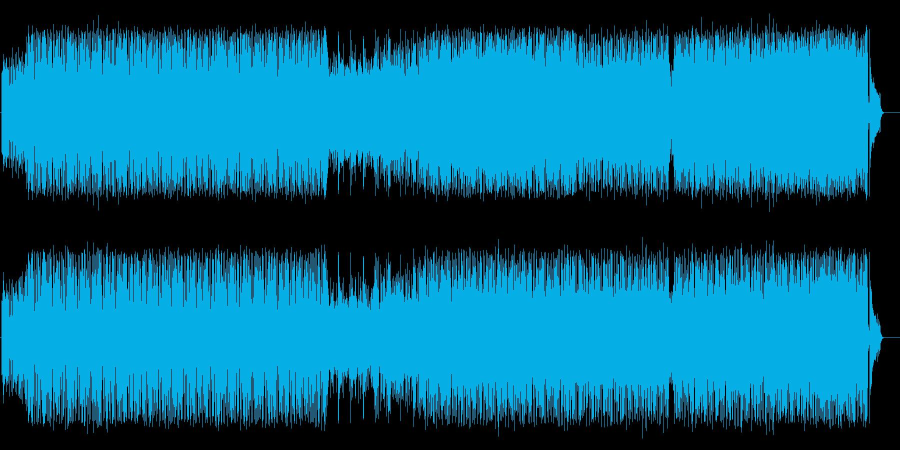 激しくクールで粋なテクノ/ドキュメントの再生済みの波形