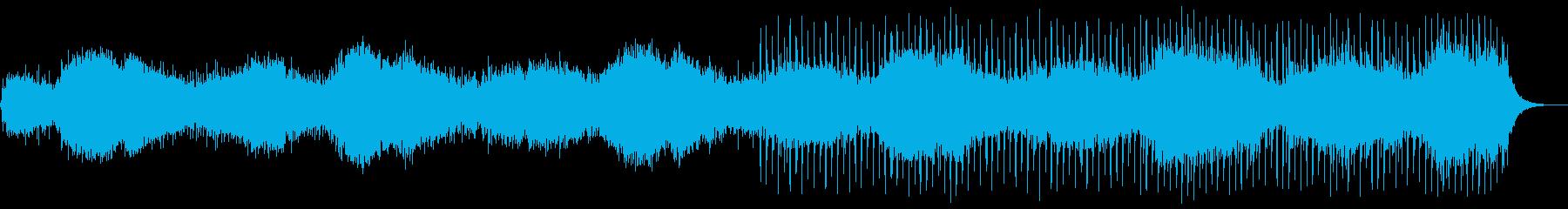 【フル尺】ドキュメント風のアンビエントの再生済みの波形