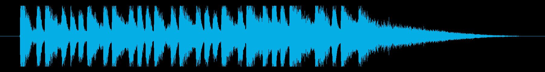 【日曜のラジオ1】の再生済みの波形