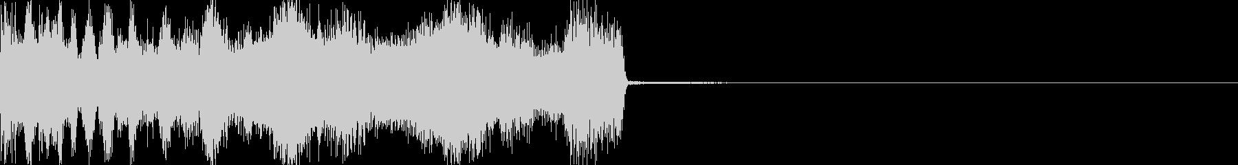 デジタルで神秘的(決定音・ゲーム魔法)の未再生の波形