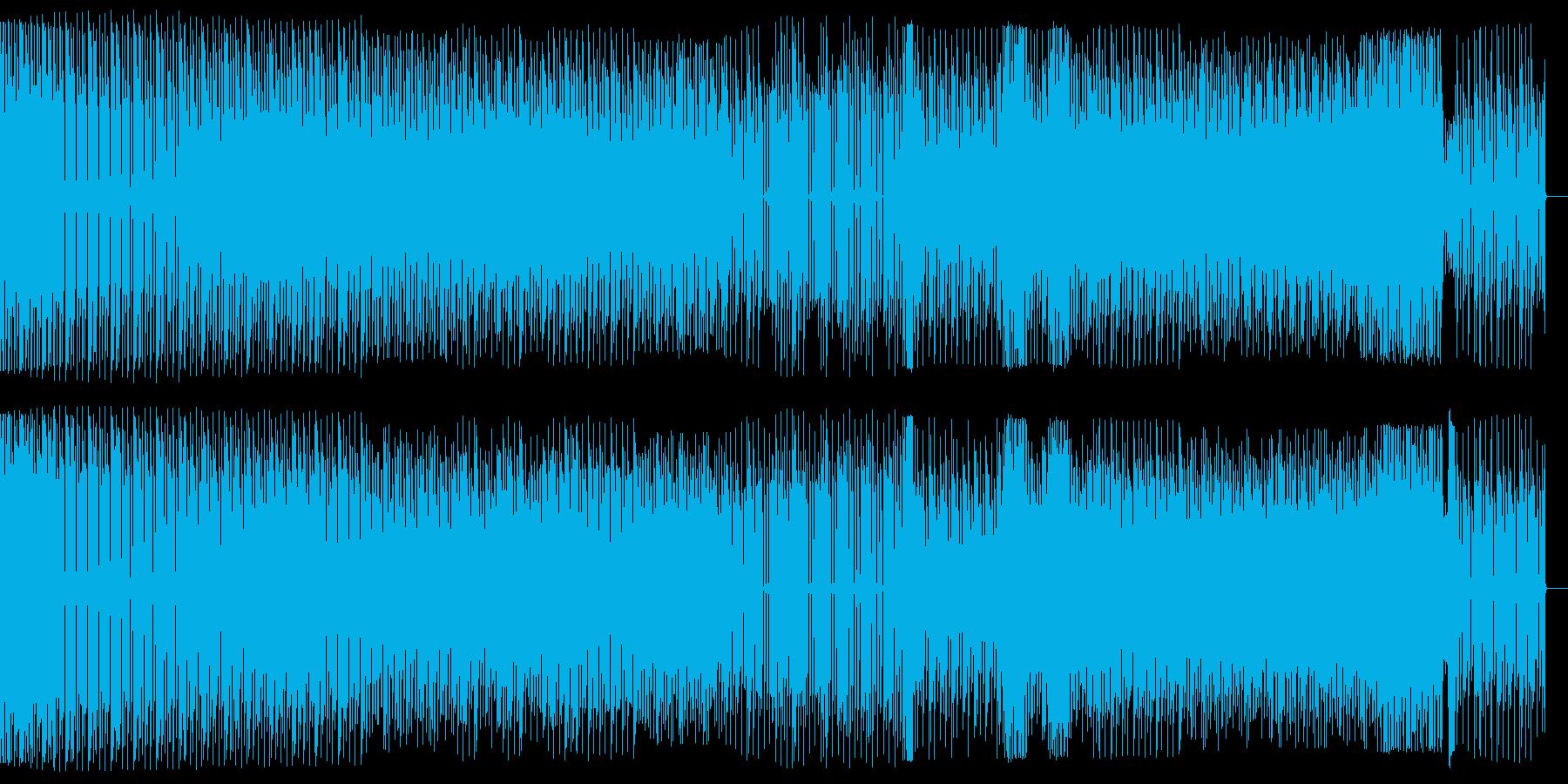 遊び心のあるエレクトロハウスの再生済みの波形