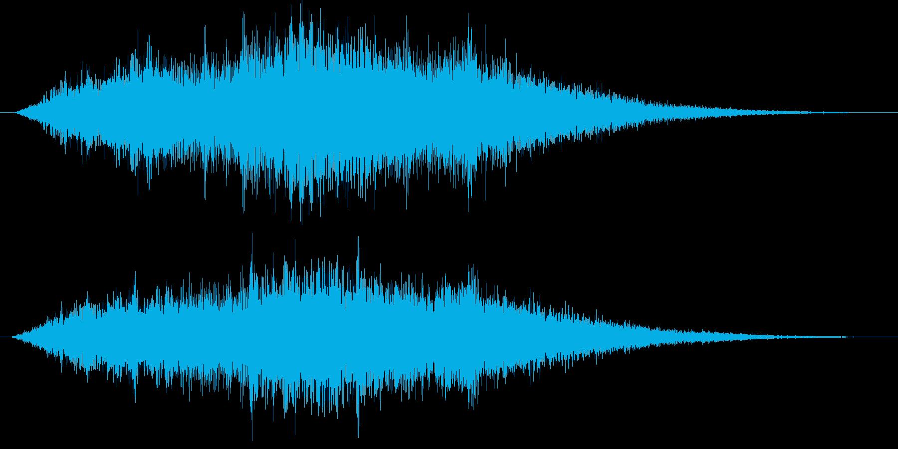 ステータス治療(ステータス全回復)の再生済みの波形