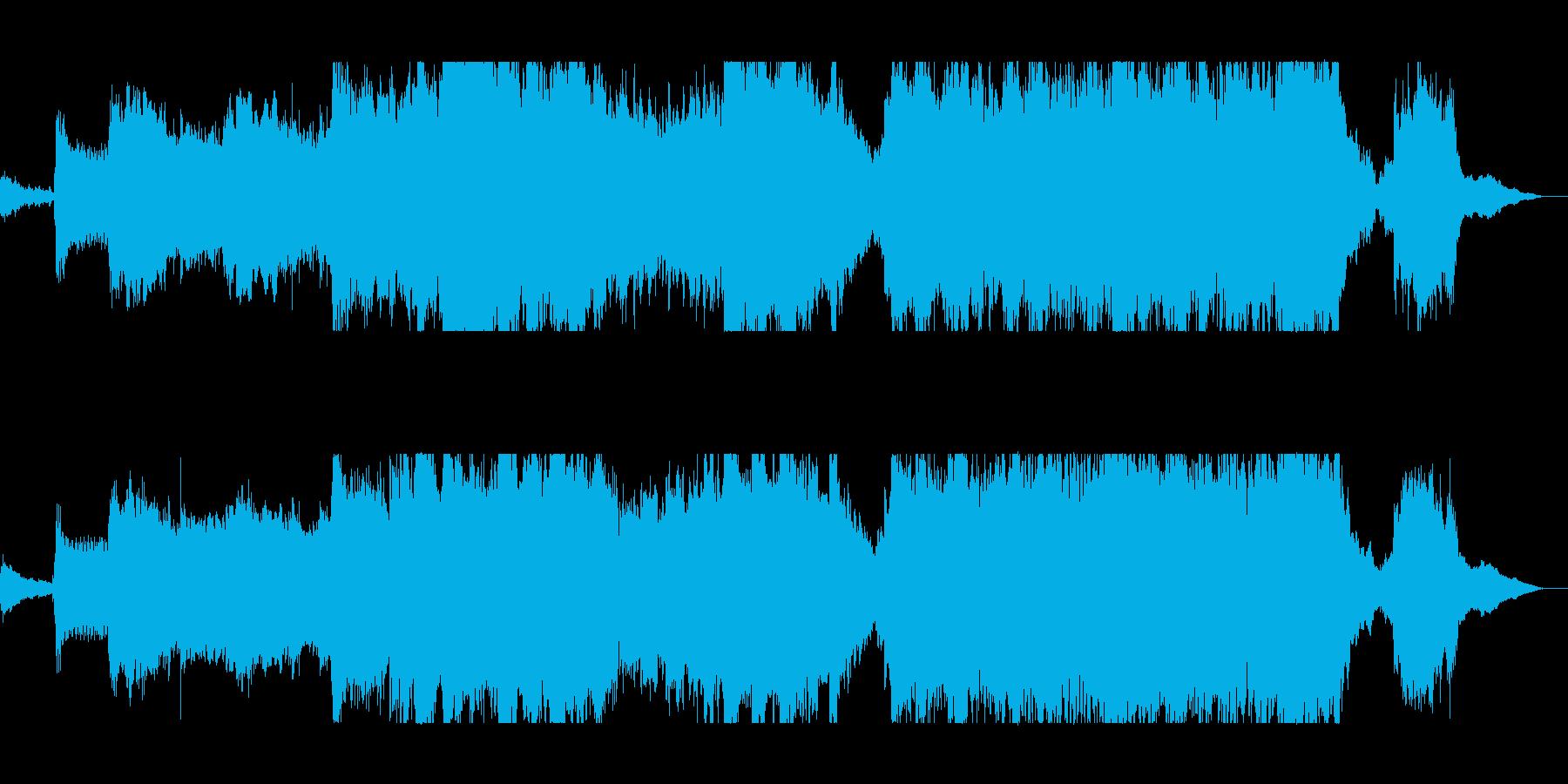 まったりとまろやかで幻想的なSFサウンドの再生済みの波形
