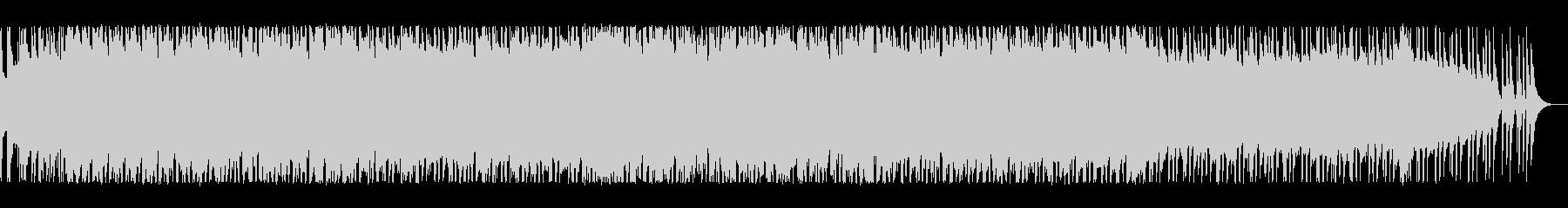 明るく爽やかなブリティッシュロックの未再生の波形