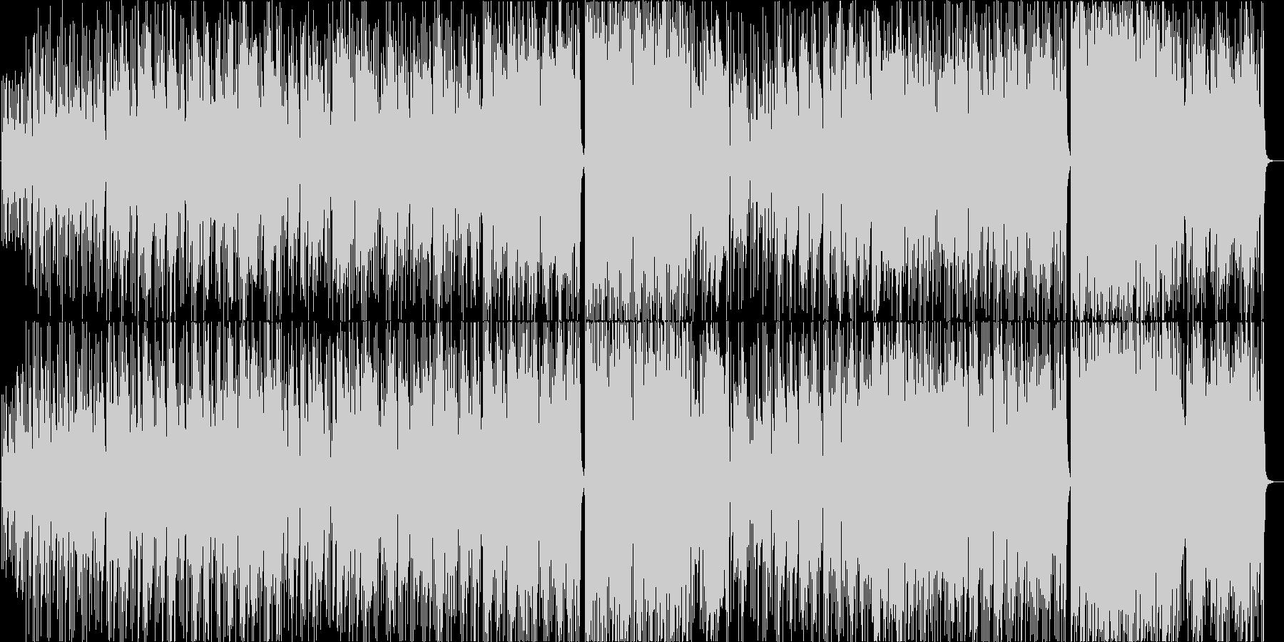 シンセピコピコの南国レゲエな生ギターメロの未再生の波形
