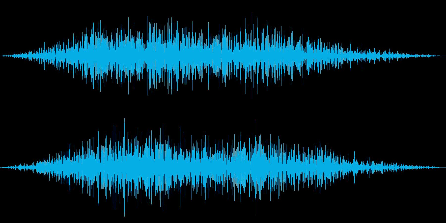メニュー画面音(ウインドウ,決定等)09の再生済みの波形