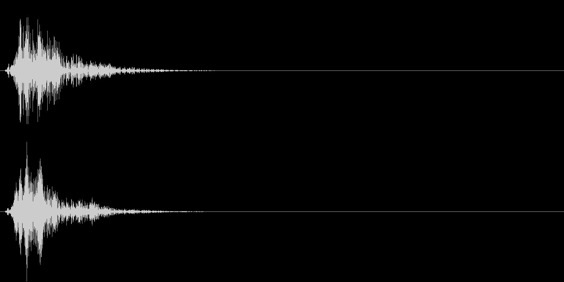 フオンの未再生の波形