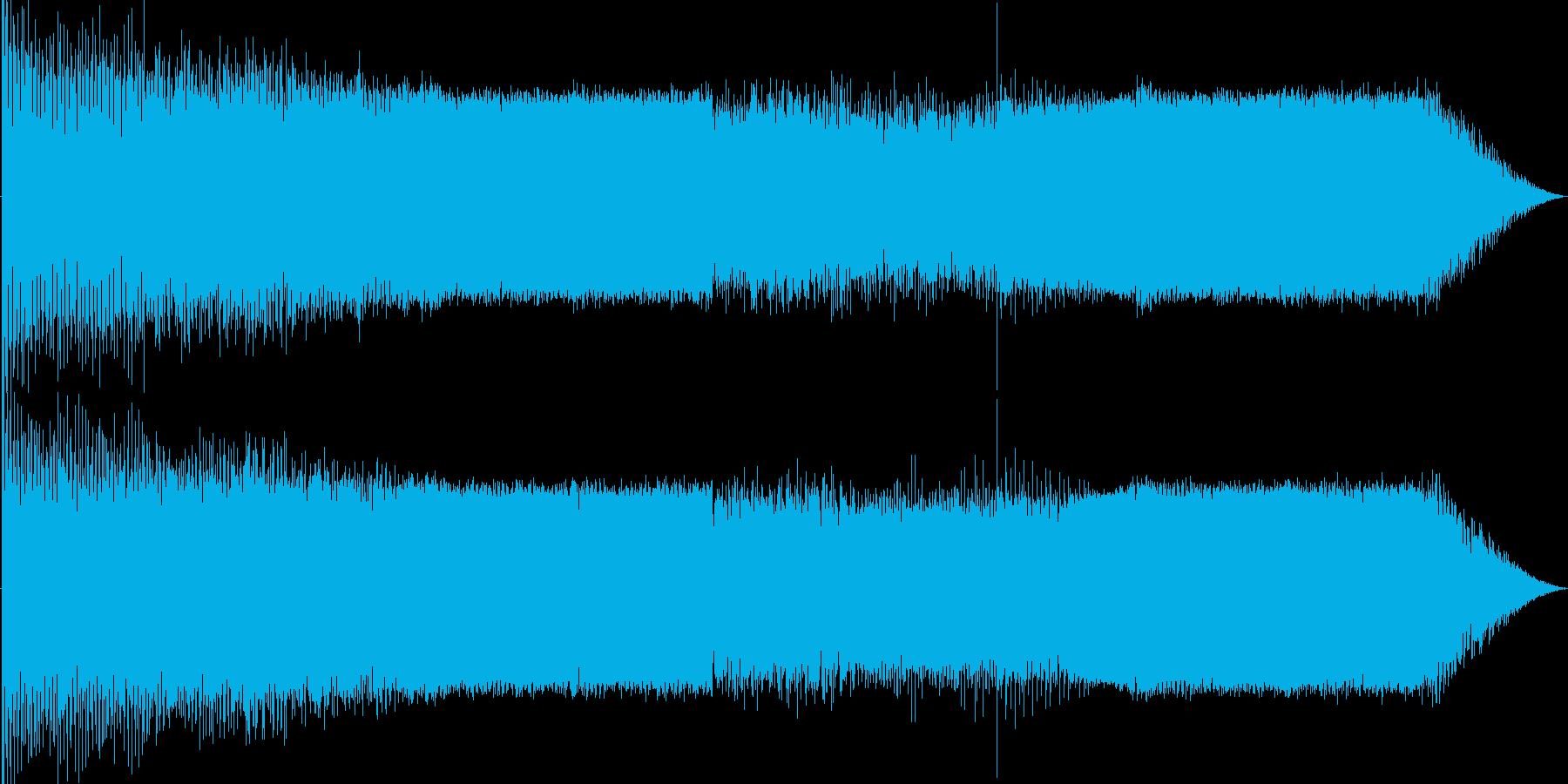 現代的なイメージの再生済みの波形