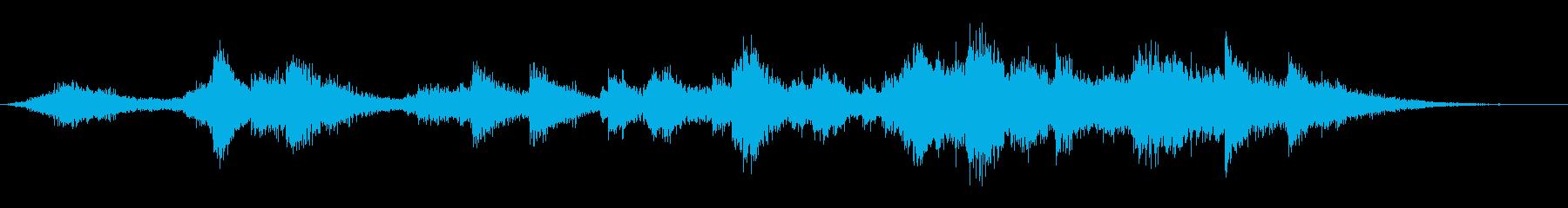 神社の鈴を鳴らす(カランカラン)の再生済みの波形