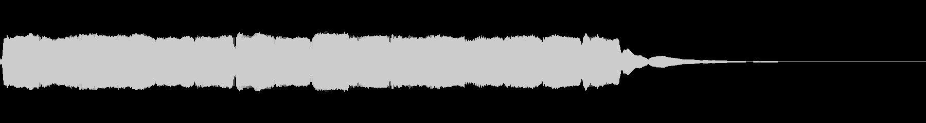 笛のアイキャッチ(ゆったり)の未再生の波形