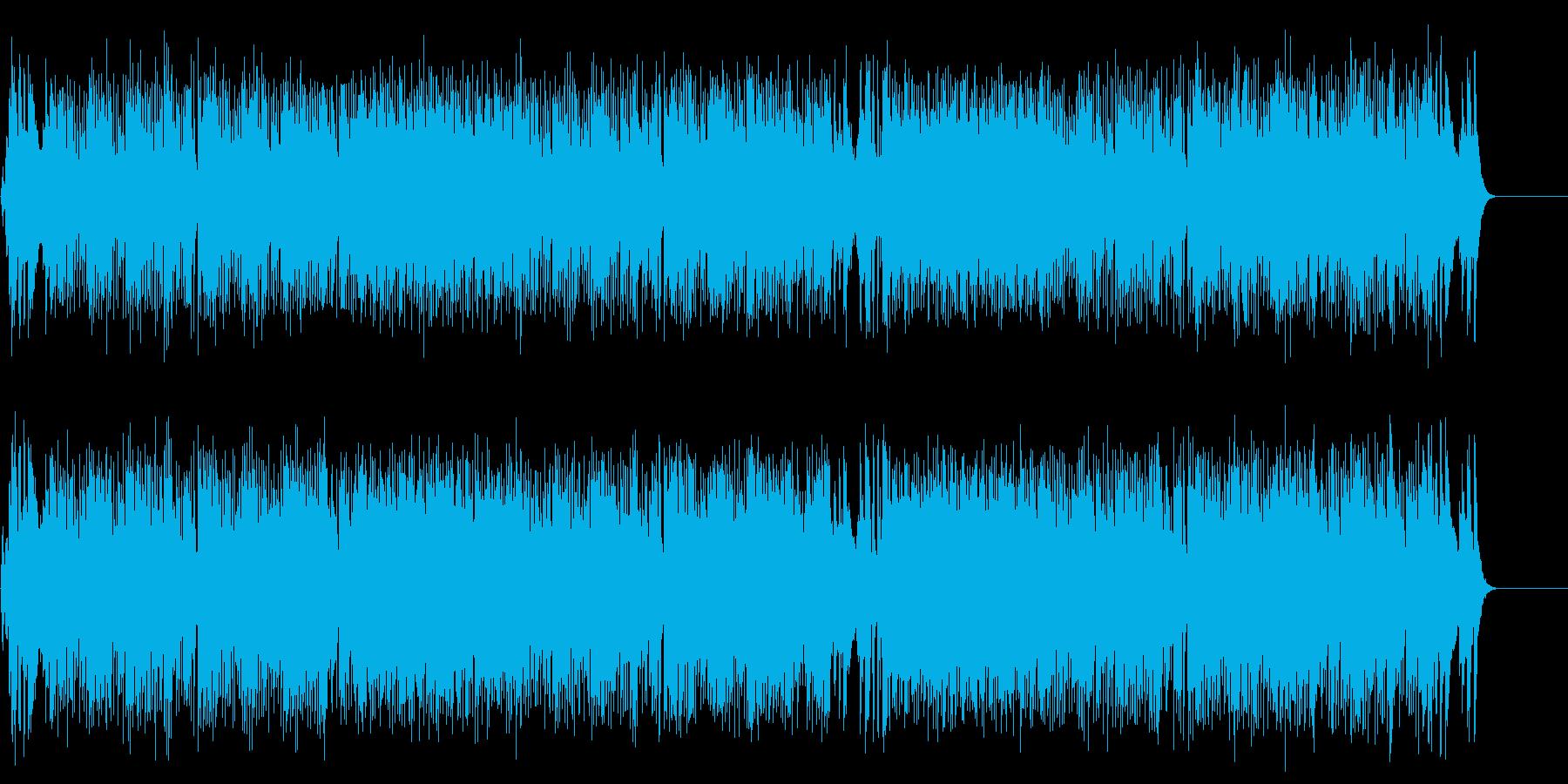 ファンタスティックなポップスの再生済みの波形