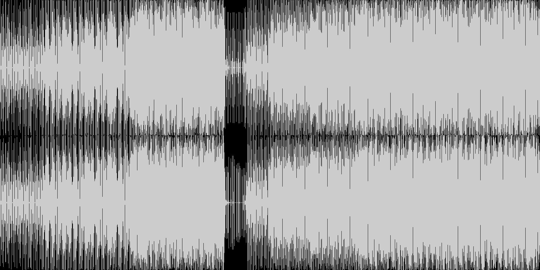 テクノでポップな街の探索(LOOP対応)の未再生の波形