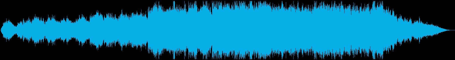 笛の音色が古き良き日本をイメージさせる曲の再生済みの波形