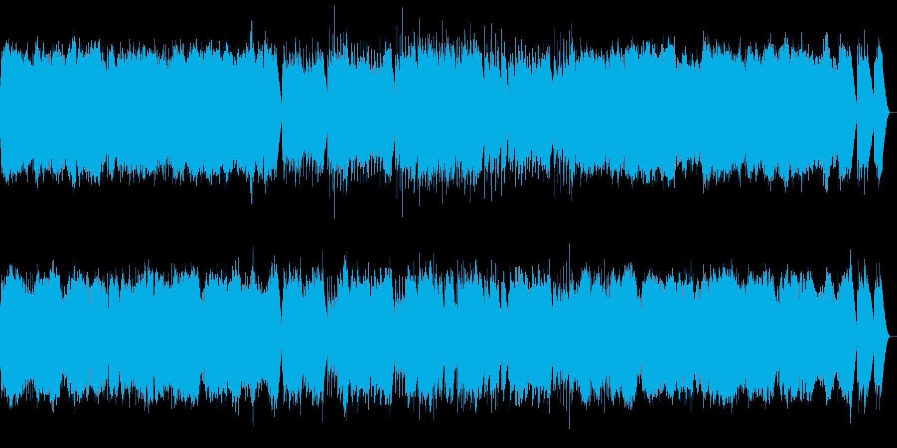 シューベルト 楽興の時第4番 オルゴールの再生済みの波形
