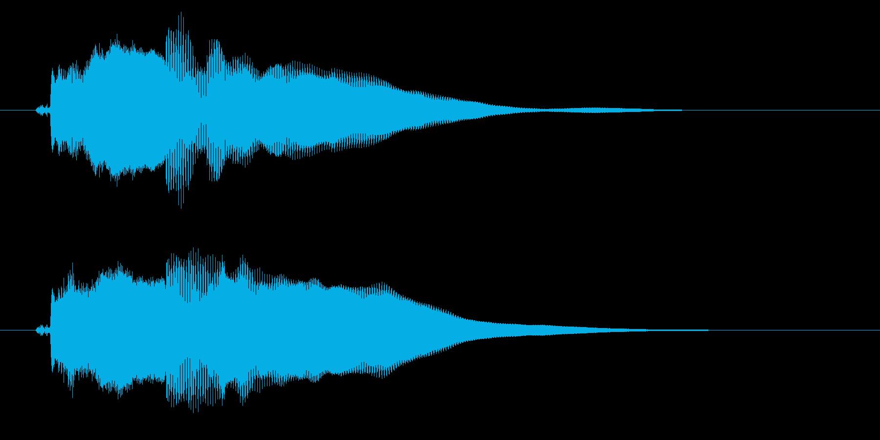 改札 アラーム01-3(音色1 フラップの再生済みの波形
