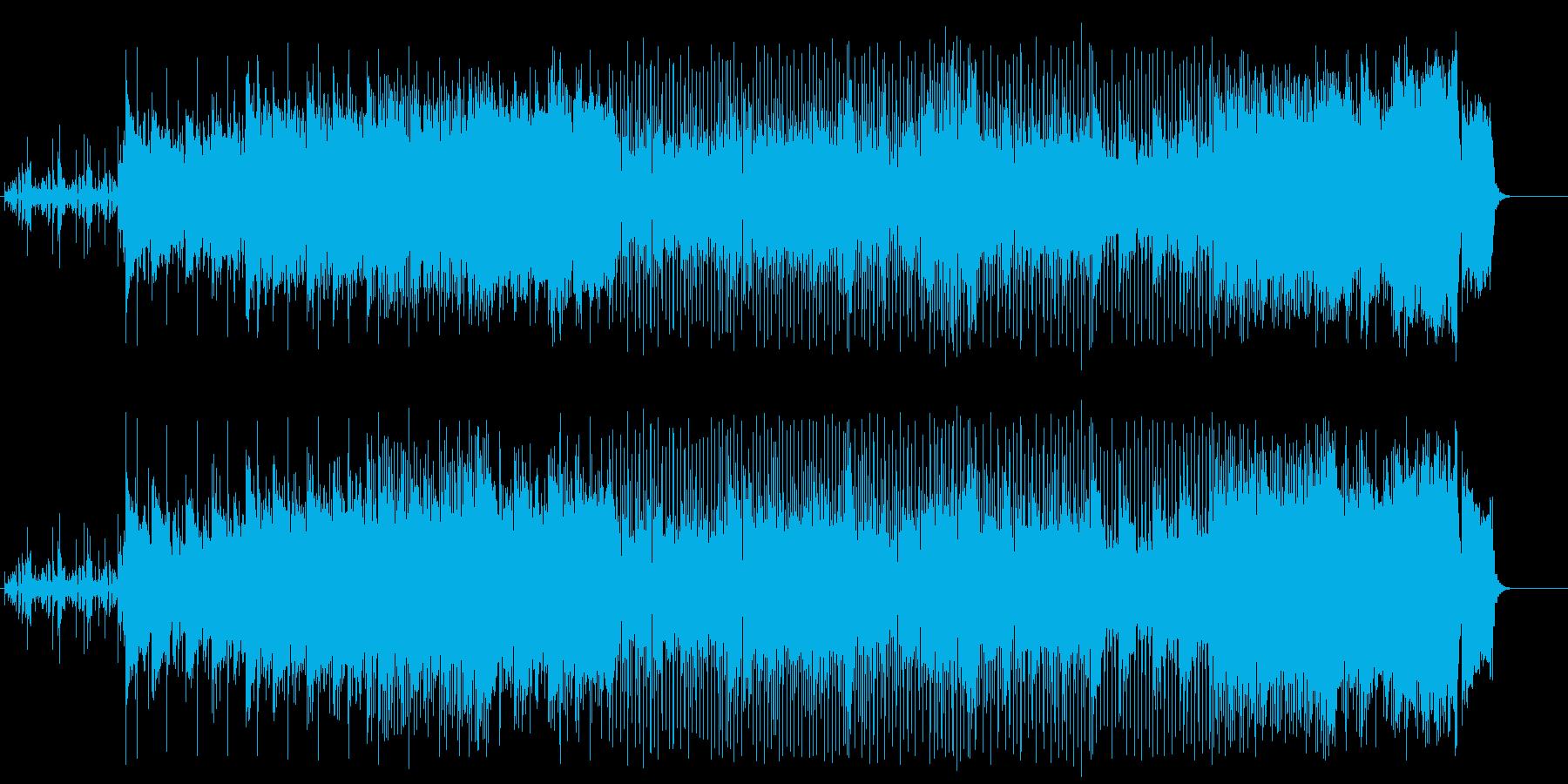 怪しいマイナー・テクノ/ポップの再生済みの波形