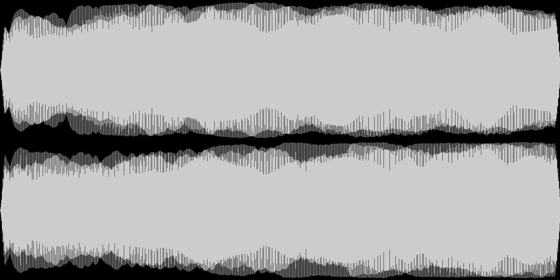 ひげ剃り機、電気シェーバー(剃る音なし)の未再生の波形