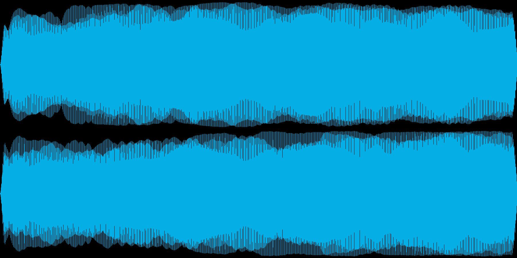 ひげ剃り機、電気シェーバー(剃る音なし)の再生済みの波形