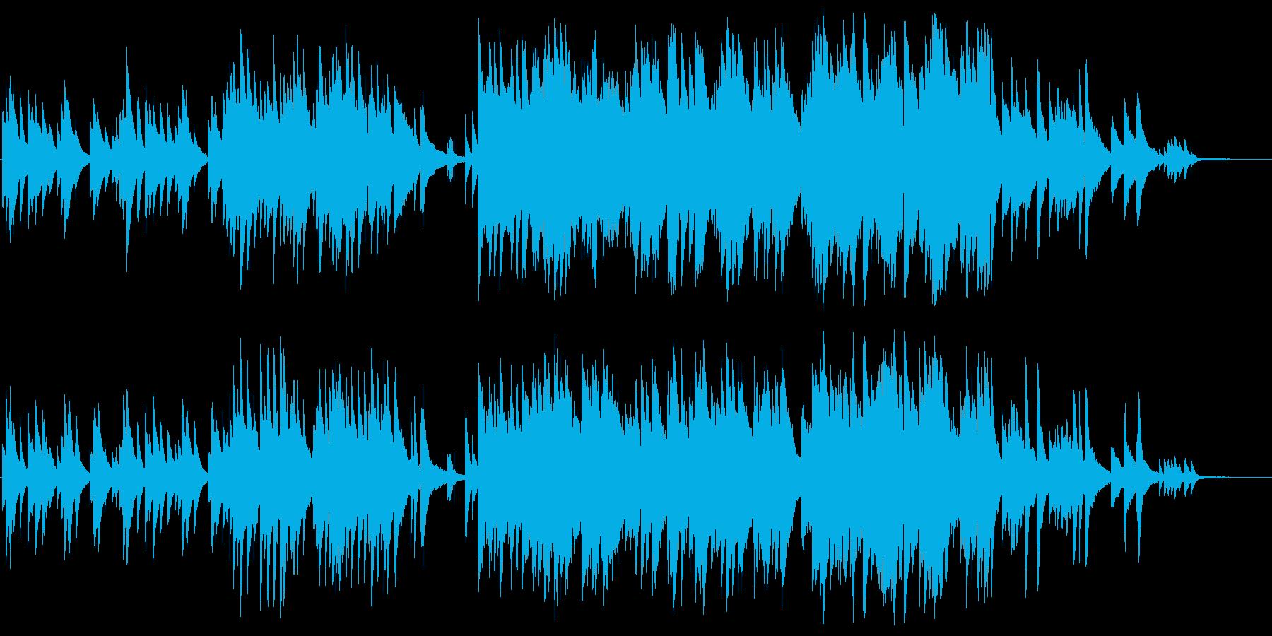 ピアノソロ 儚くも力強いの再生済みの波形