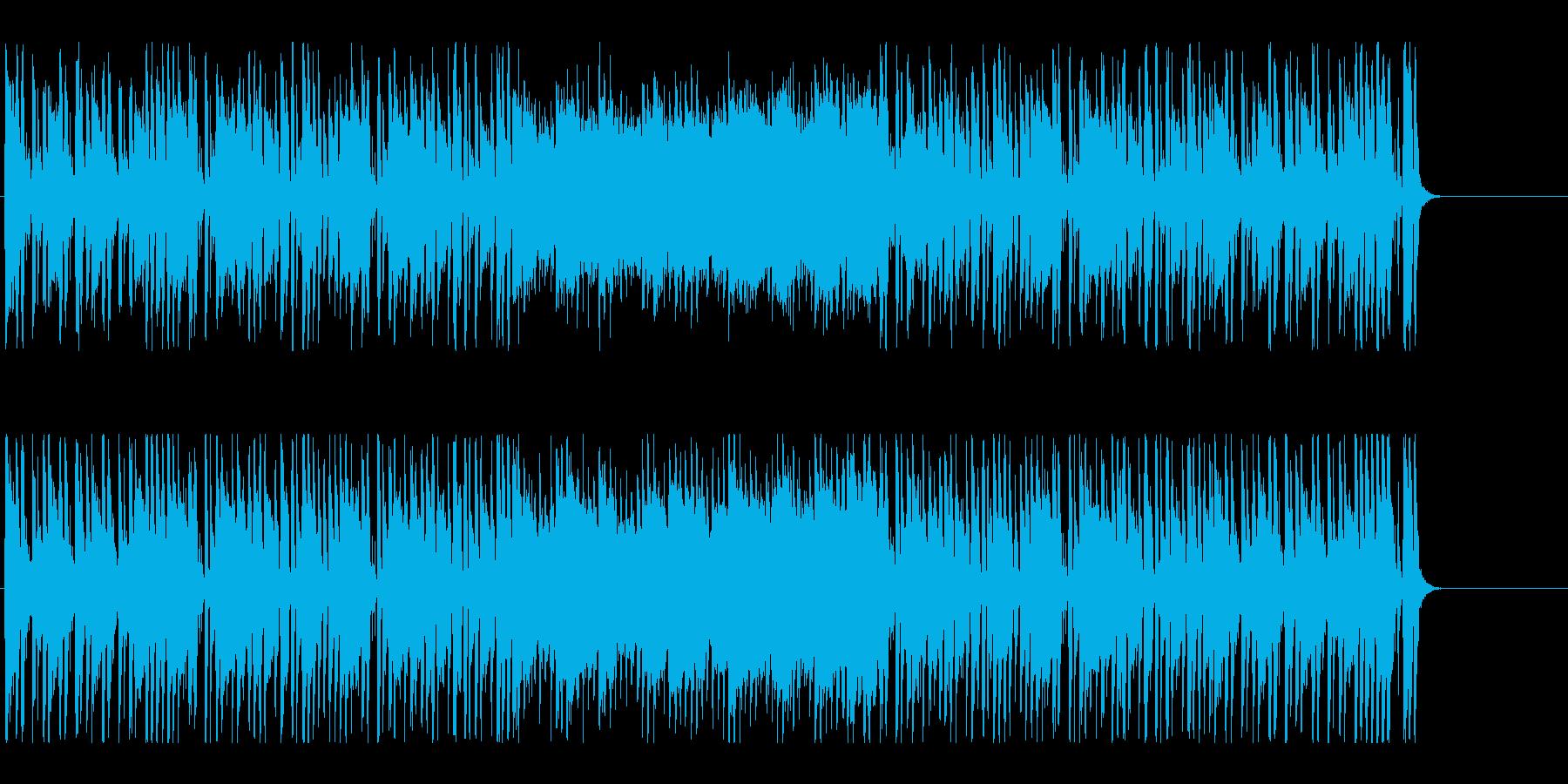 楽しい いきいき かわいい 元気 情報の再生済みの波形