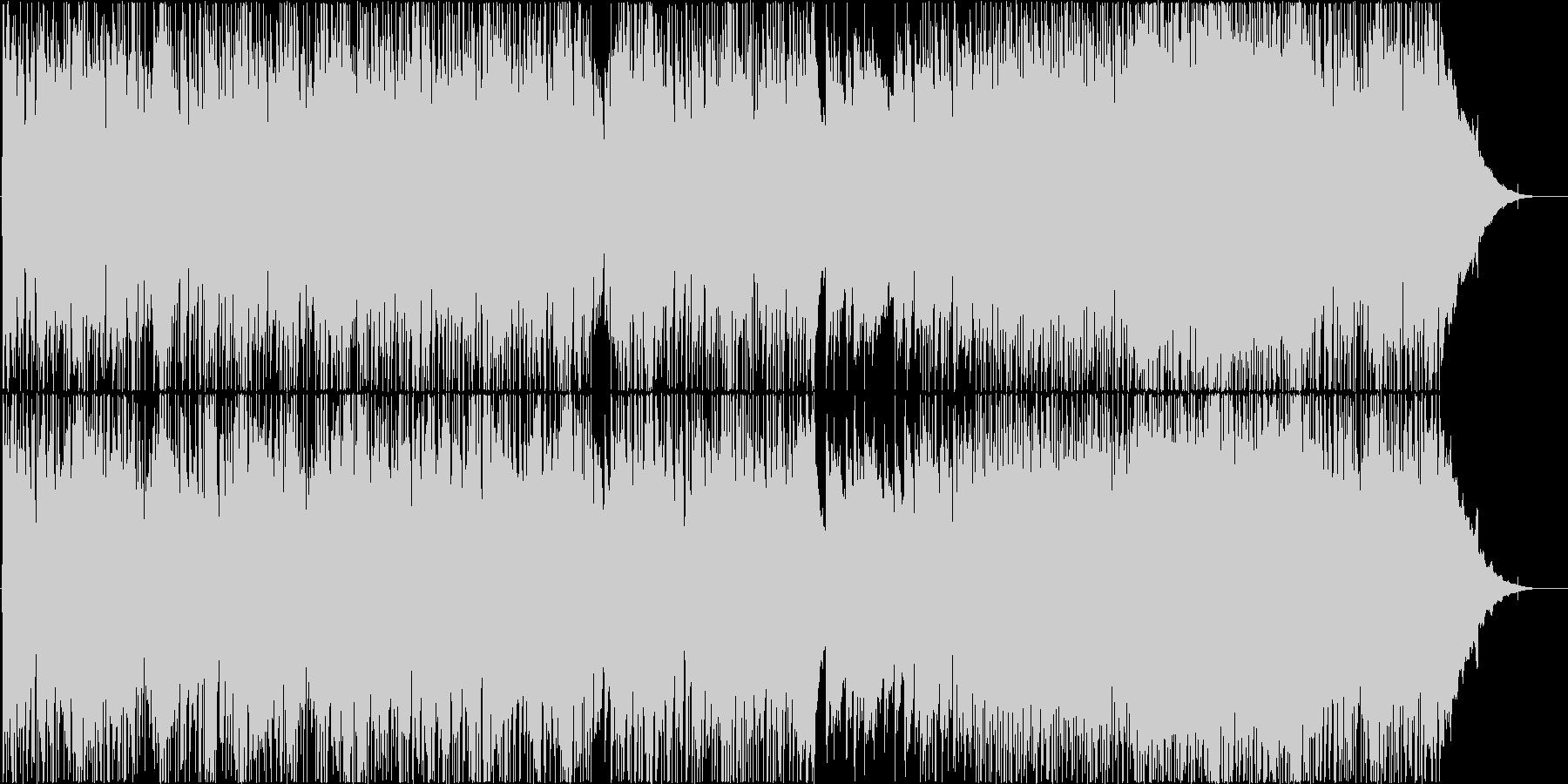 爽やかなピアノポップの未再生の波形