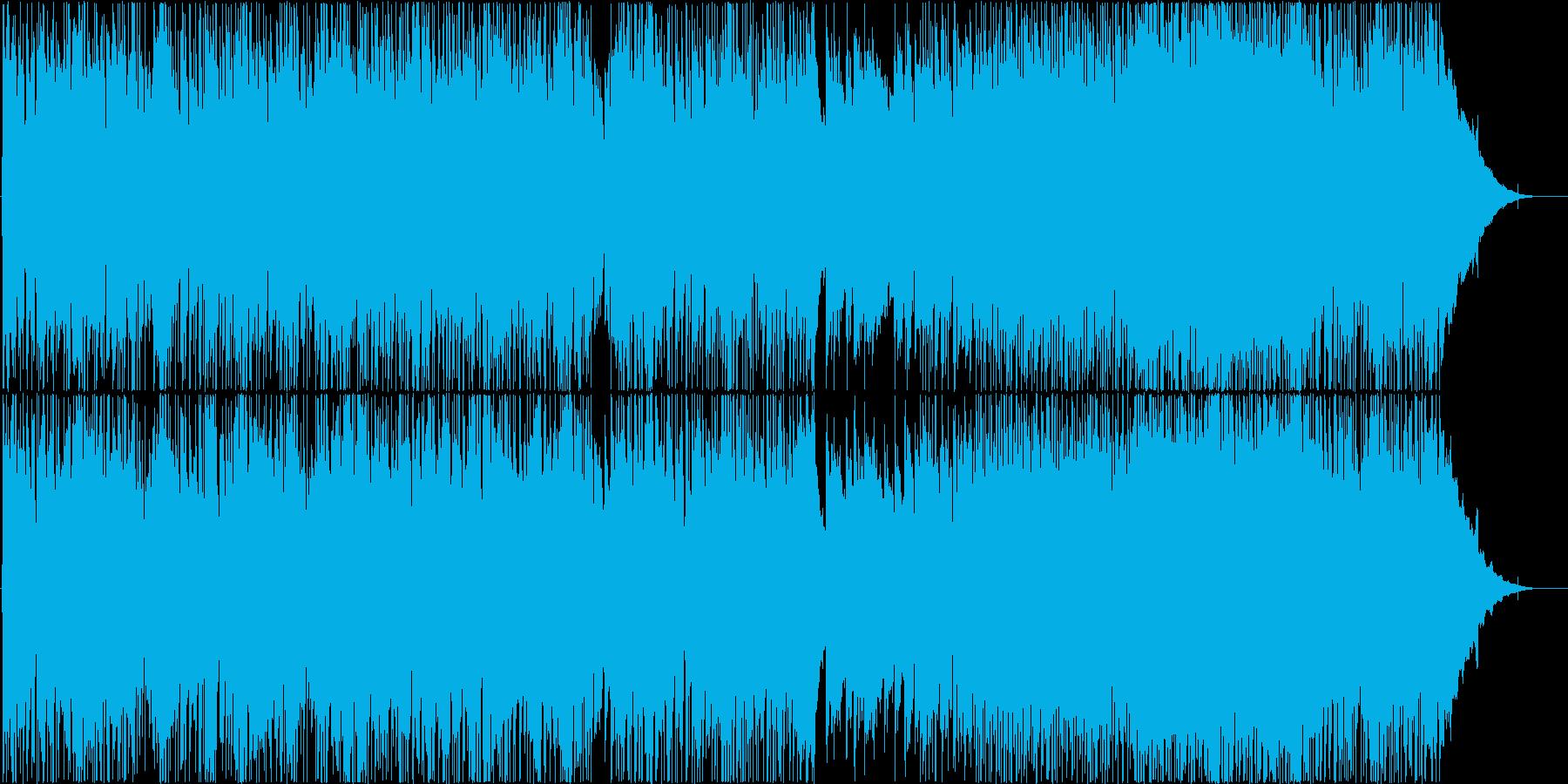 爽やかなピアノポップの再生済みの波形