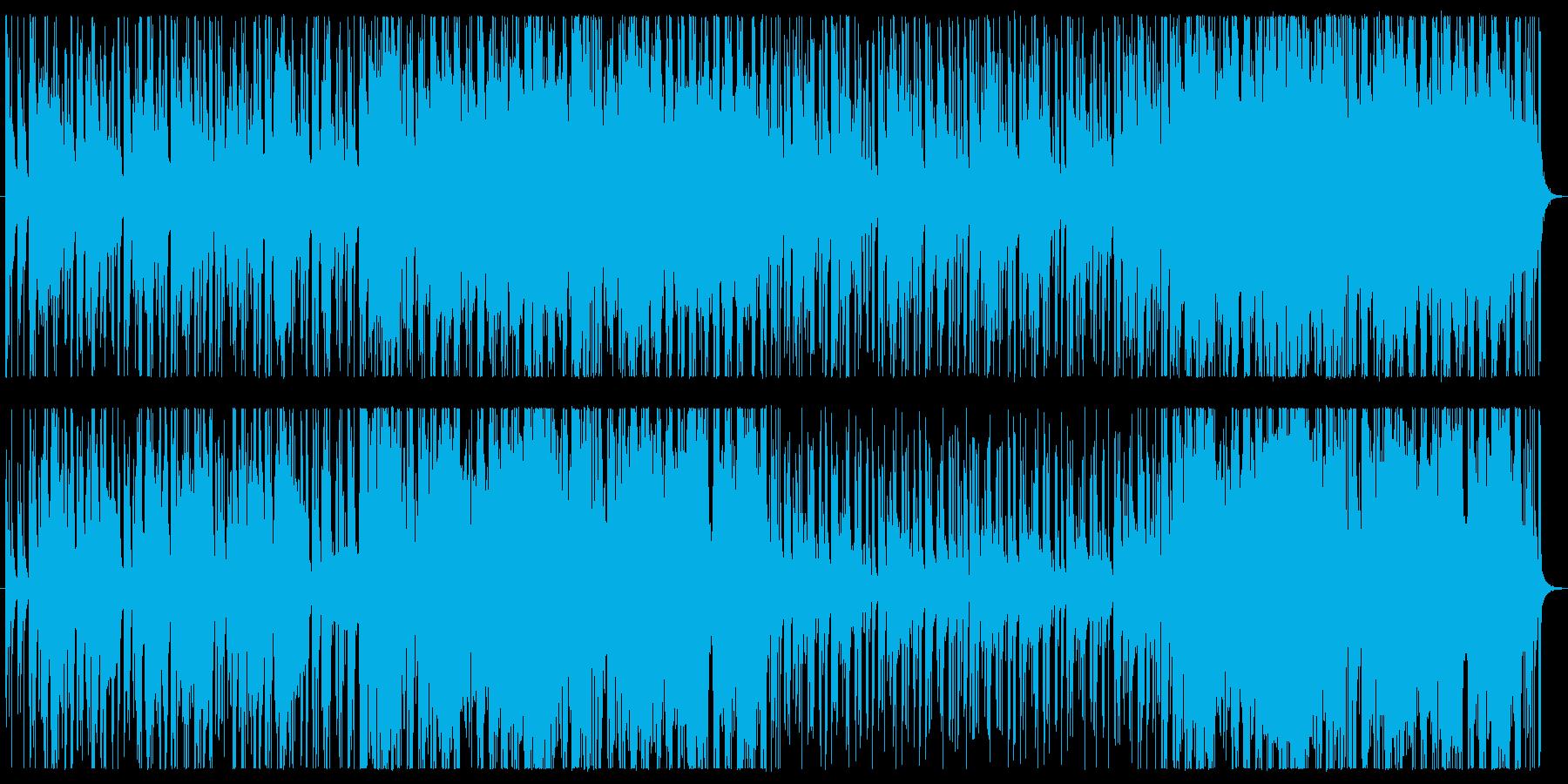 ソプラノサックスの爽やかな曲調です。エ…の再生済みの波形