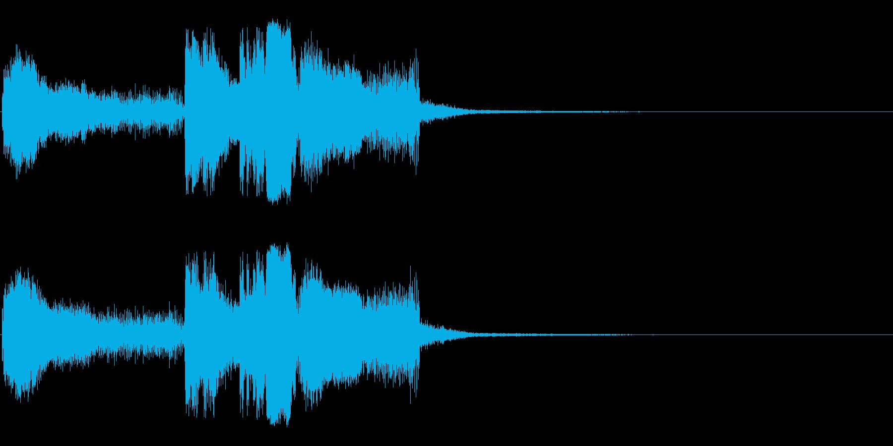 放電1 (ビリビリビリ…バシューンバリ…の再生済みの波形