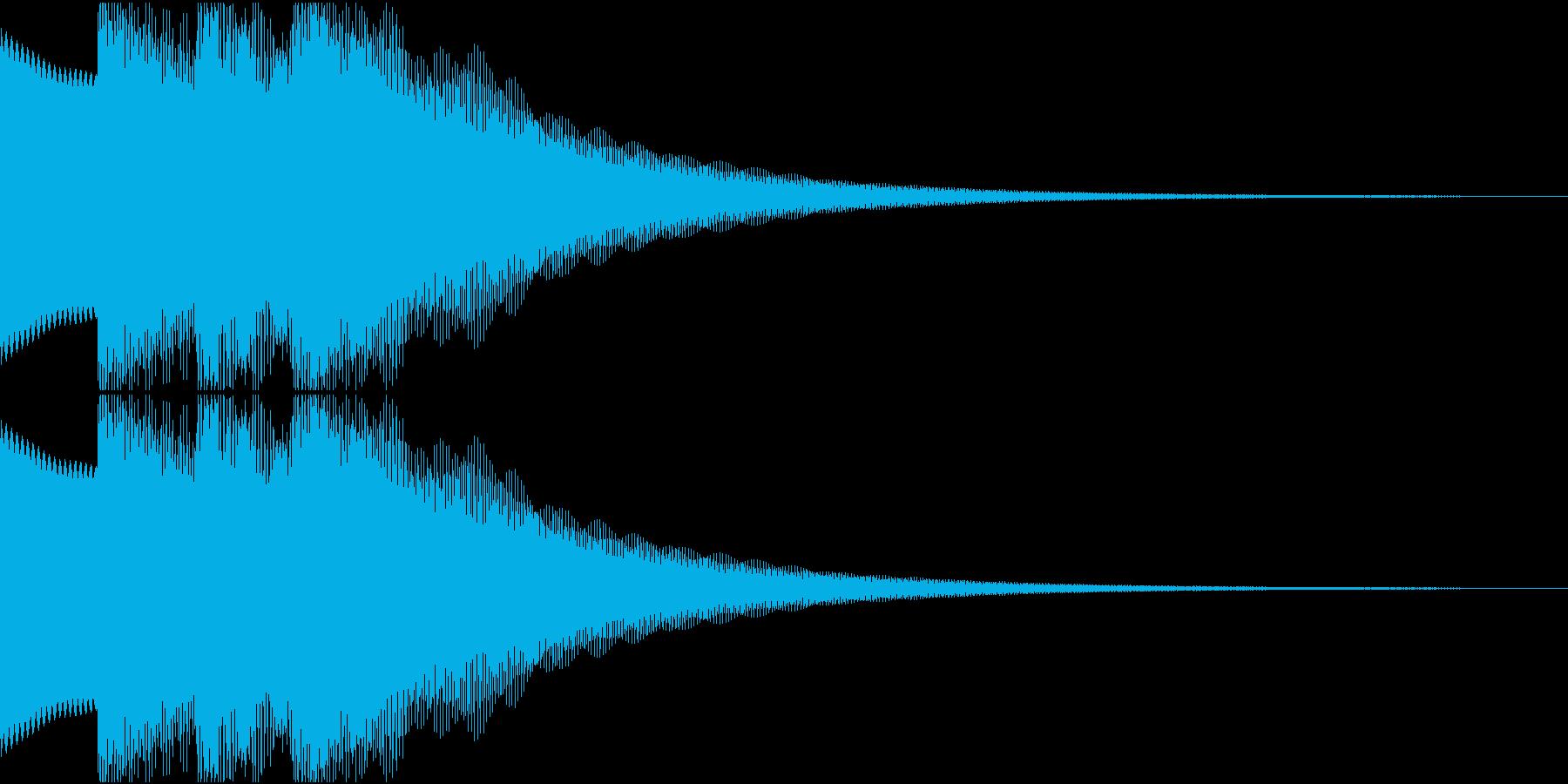ピロリロの再生済みの波形