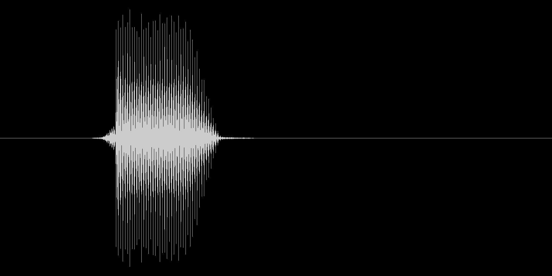 ゲーム(ファミコン風)セレクト音_014の未再生の波形