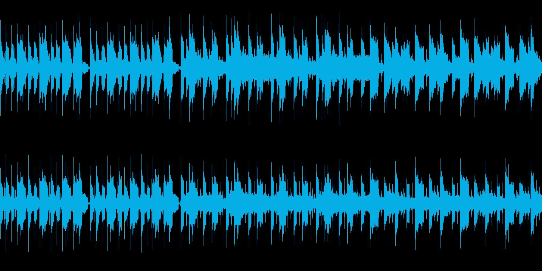 尺八と民族楽器を使った幻想的な曲です。の再生済みの波形