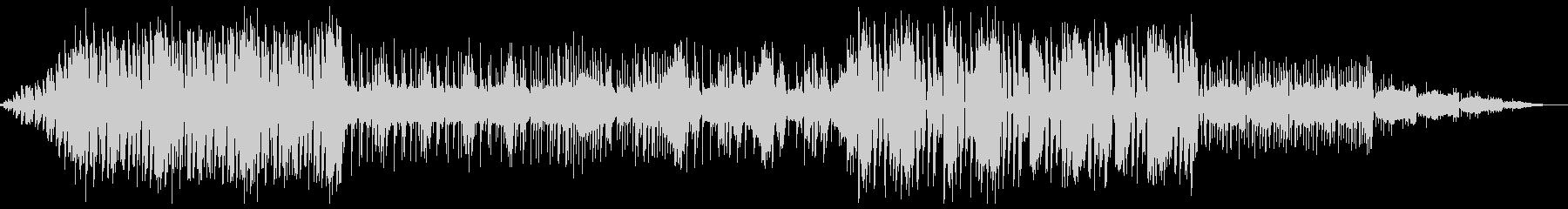 インダストリアルなグライムの未再生の波形