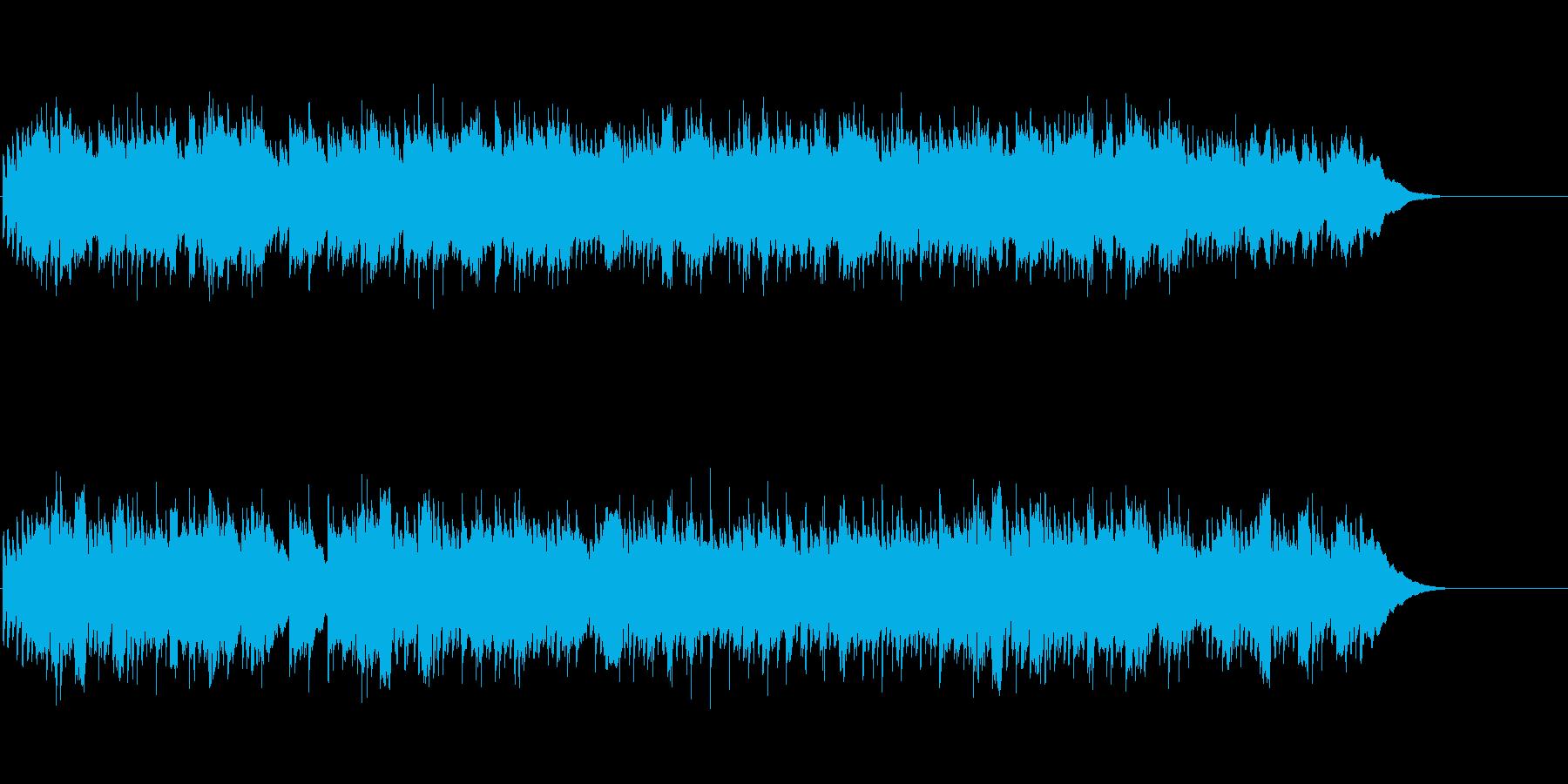ツイン・アコースティック・ギターの再生済みの波形