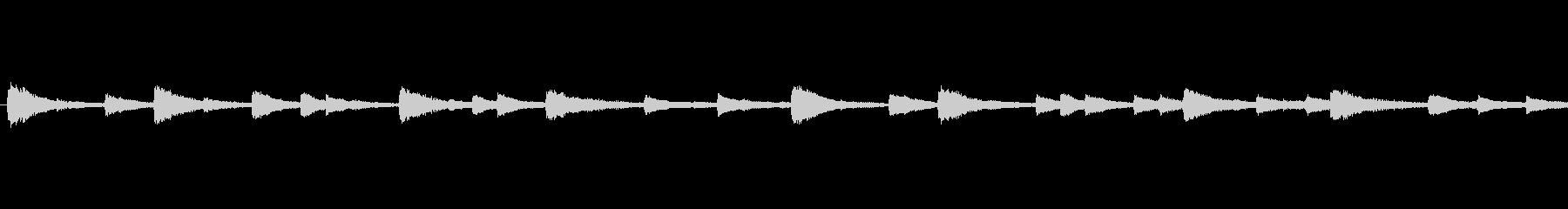 piano loop ピアノループの未再生の波形