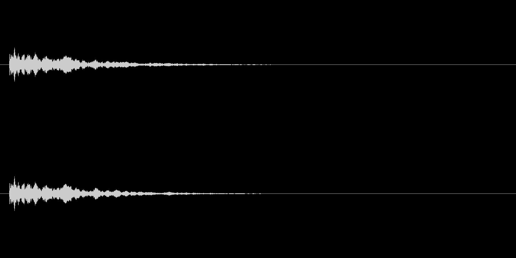 【アクセント09-3】の未再生の波形