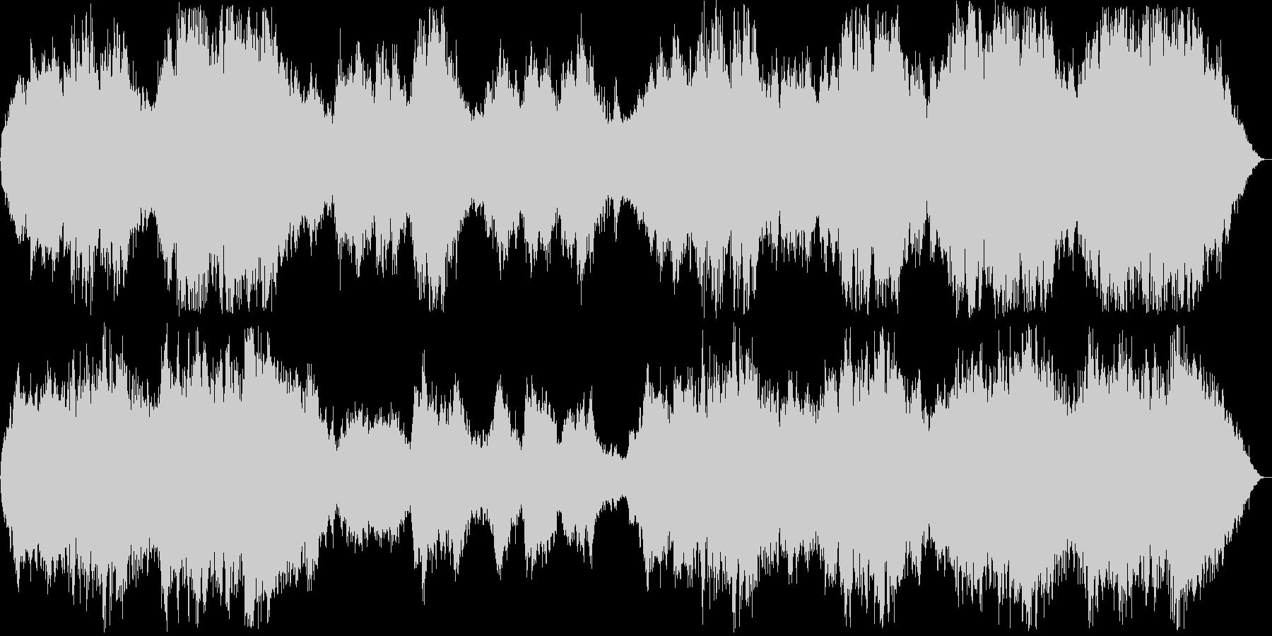 壮大なシンセ・管楽器などの未再生の波形