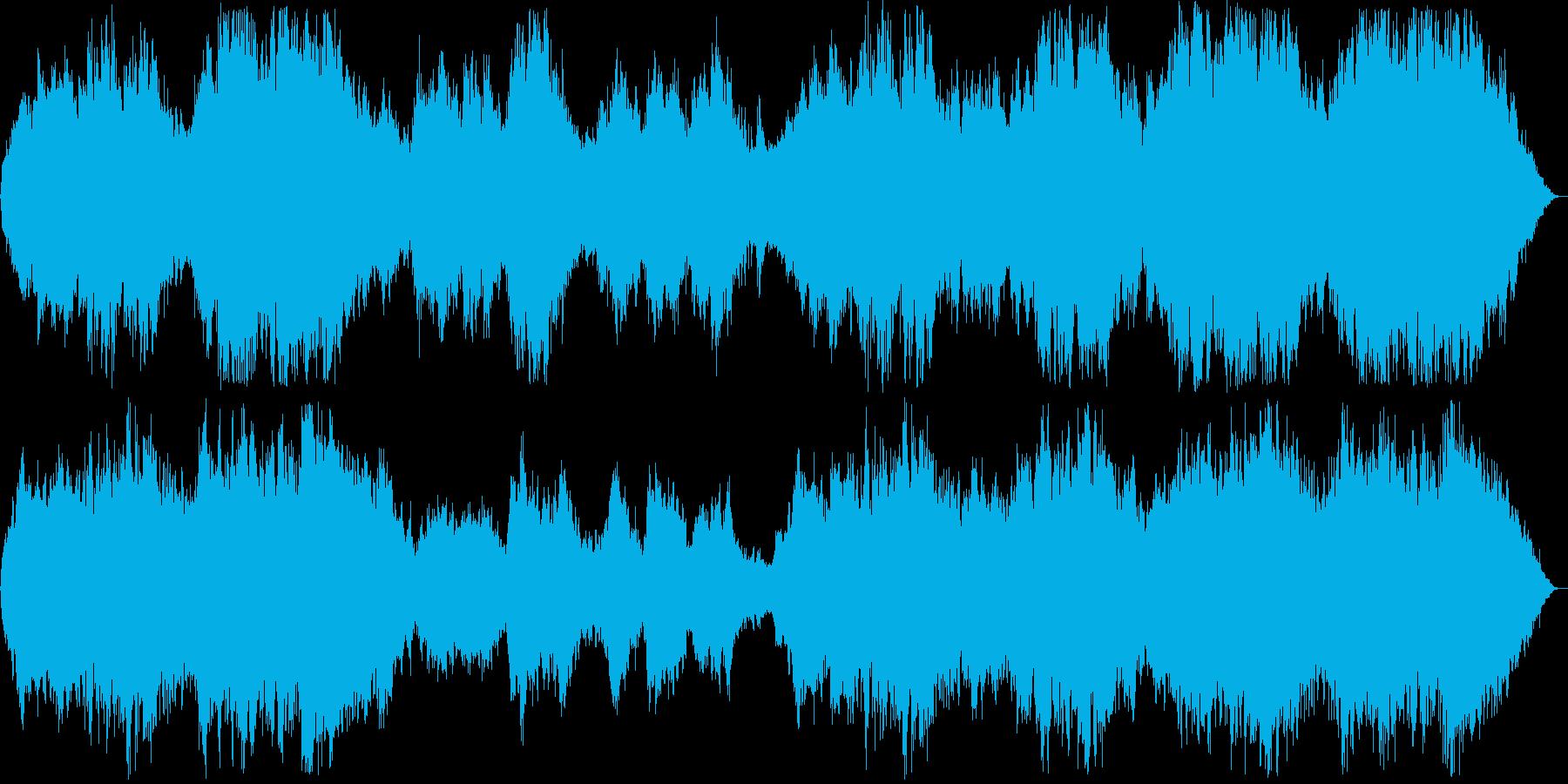 壮大なシンセ・管楽器などの再生済みの波形