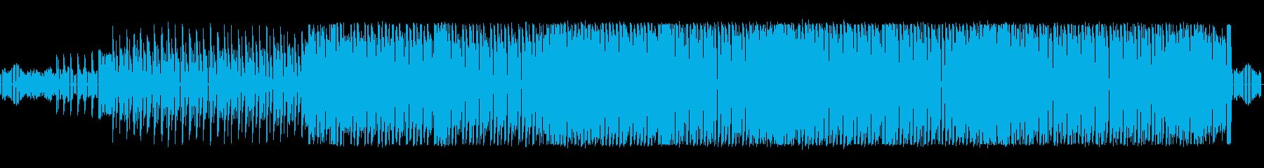 パーティミュージックの再生済みの波形