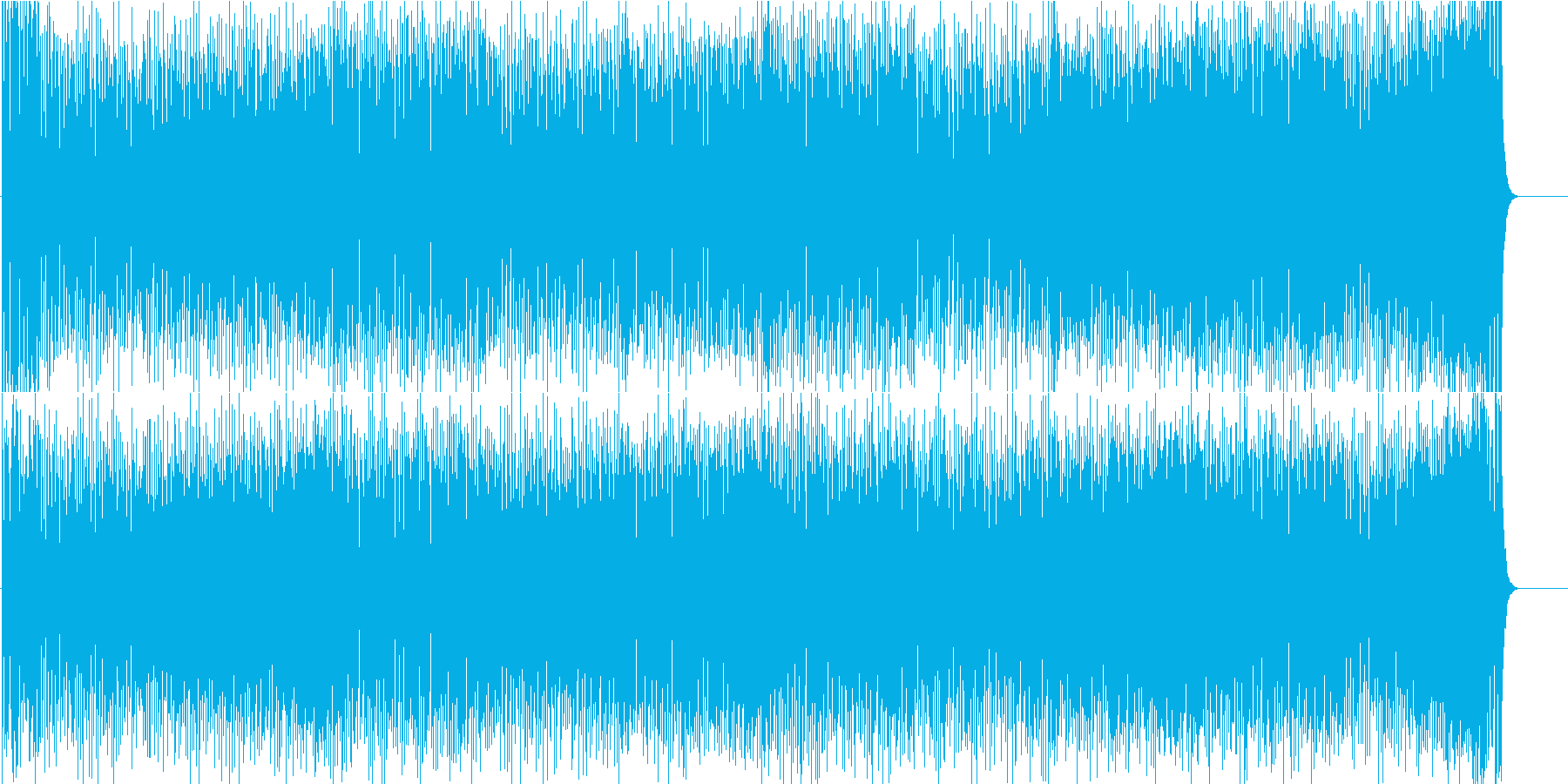 昭和歌謡風 懐かしい 忙しい さびしいの再生済みの波形