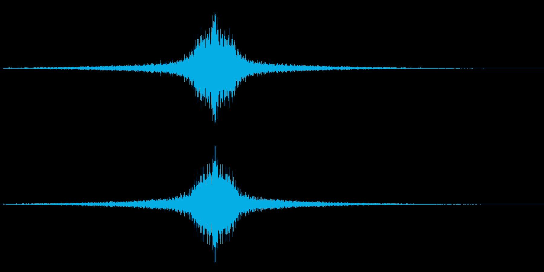 タイトルインパクトの再生済みの波形