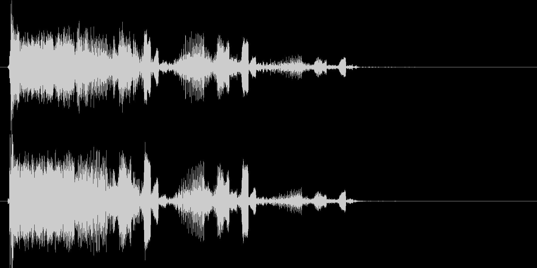 キュルキュル DJ、ラジオの未再生の波形
