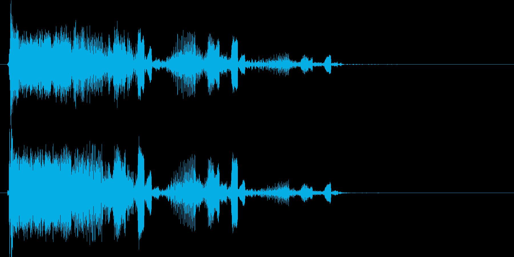 キュルキュル DJ、ラジオの再生済みの波形