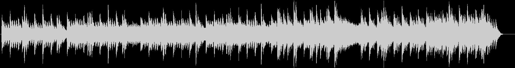 メロディーありインストバラードの未再生の波形