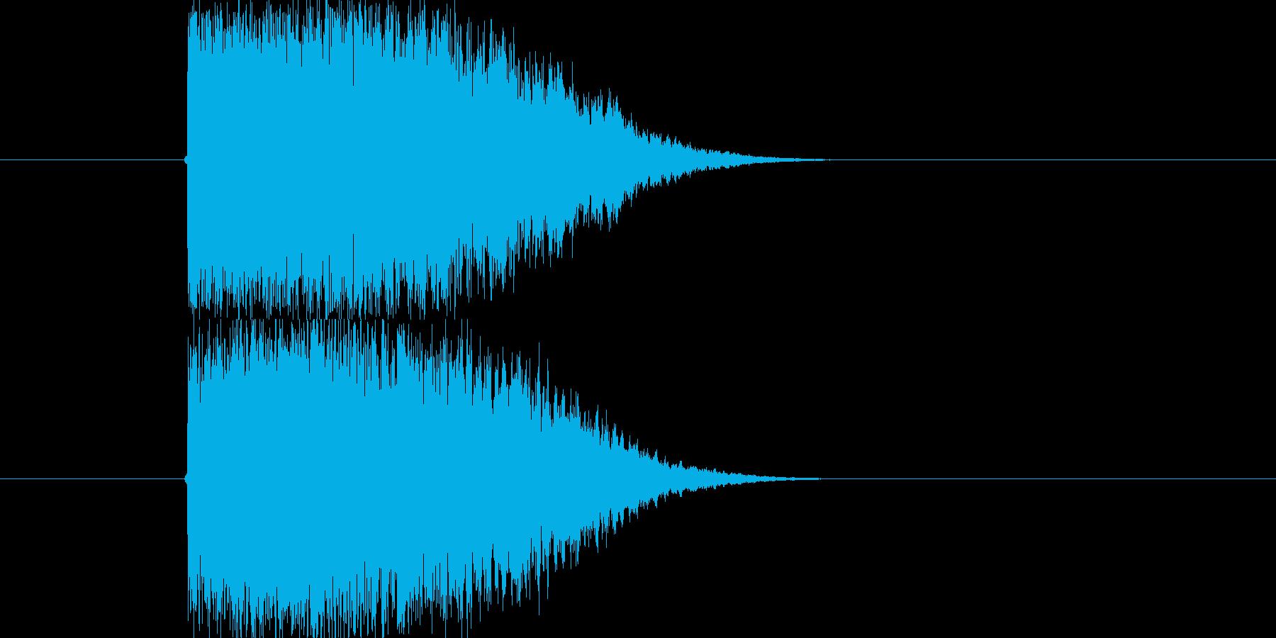 金属系のかためなインパクトSEです。ロ…の再生済みの波形